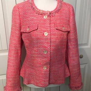 J Crew peplum Lady Jacket